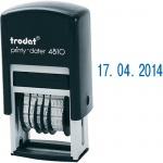Датер автоматический Trodat Printy 3.8мм, цифры, 4810 Bank