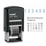 Нумератор с автоматической оснасткой Trodat Printy 6 разрядов, 3.8мм, 4836