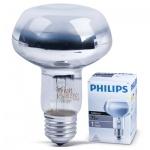 Лампа накаливания Philips Spot R80 75Вт, E27, рефлекторная