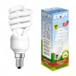 Лампа энергосберегающая Старт 9(40)Вт, E14, теплый белый