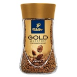 Кофе растворимый Tchibo Gold Selection 190г, стекло