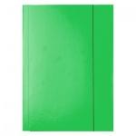 Картонная папка на резинке Esselte, А4, до 400 листов, зеленая