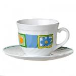 Набор чайный Luminarc Valensole 220мл, 6 персон