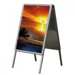 Дисплей напольный Promega Office А1, 100 см, металлик, S1101
