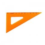 Угольник Стамм ТК-23 10см, 30°/60°, оранжевый