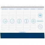 Планинг недатированный синий, 35х49см, 54 листа