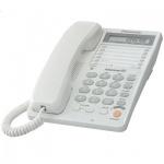 Телефон проводной Panasonic KX-TS2365RU белый