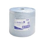 Протирочный материал Kimberly-Clark WypAll L40, 7426, высокая впитываемость, в рулоне, 285м, 3 слоя, синий