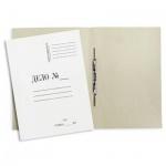 Скоросшиватель картонный Дело белый, А4, 440 г/м2