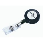 Рулетка для бейджа Durable 80 см, темно-серый, 10 шт/уп, 8152-58