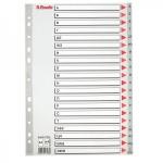 Буквенный разделитель листов Esselte 20 разделов, А4, А-Я