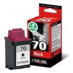 Картридж струйный Lexmark 70 12AX970, черный