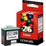 Картридж струйный Lexmark 26 10N0026, трехцветный