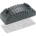 Губка для маркерной доски Nobo 16х7.5см, магнитный, черный