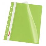Скоросшиватель с перфорацией Esselte, А4, 10 шт/уп, зеленый