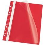 Скоросшиватель с перфорацией Esselte, А4, 10 шт/уп, красный