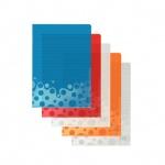 Папка-уголок Leitz Bebop ассорти, A4, 200мкм, 5 шт/уп, 40830099