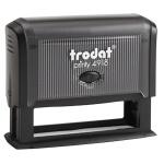 Оснастка для прямоугольной печати Trodat Printy 75х15мм, черная, 4918
