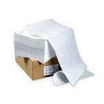 Перфорированная бумага Mega Office Стандарт 210х305мм, белизна 100%CIE, с неотрывной перфорацией, 2000шт