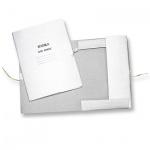 Картонная папка на завязках Attache белая, А4, до 200 листов, 360г/м2