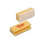Губка Vileda Pro Виледа 7х15см, мягкая, белый абразив, желтый