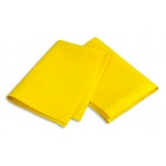 Тряпка для мытья пола Bagi 50х70см, вискоза/ полипропилен/ полиэстер, желтая