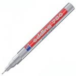 Маркер лаковый Edding 780 серебристый, 0.8мм, круглый наконечник, универсальный, корпус из ударопроч