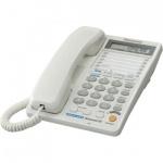 Телефон проводной Panasonic KX-TS2368RU белый