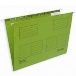 Папка подвесная Foolscap Bantex салатовая, А4+, 365х240 мм, 25 шт/уп, 3470-15