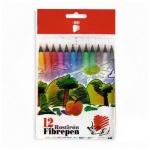 Фломастеры Ico 300 12 цветов, смываемые