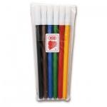 Фломастеры Ico 300, смываемые, 6 цветов