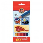 Набор цветных карандашей Koh-I-Noor 12 цветов, 3592