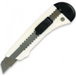 Нож канцелярский Bantex 18 мм, белый