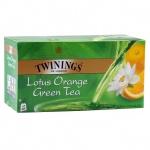 ��� Twinings Green, �������, Green Lotus Orange, 25 ���������