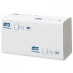 Бумажные полотенца Tork Universal H3, 290158, листовые, 300шт, 2 слоя, белые