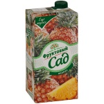 Нектар Фруктовый Сад ананас, 1.93л