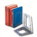 Подставка для книг Esselte прозрачный тонированный, 2шт