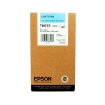 Картридж струйный Epson C13 T603500, светло-голубой