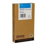 Картридж струйный Epson C13 T612200, голубой