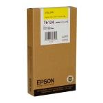 Картридж струйный Epson C13 T612400, желтый