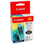 Картридж струйный Canon BCI-21С, голубой