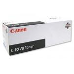 Тонер-картридж Canon C-EXV8C, голубой, (7628A002)