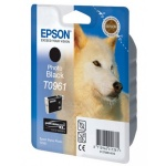 Картридж струйный Epson C13 T0961 4010, черный
