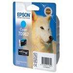 Картридж струйный Epson C13 T0962 4010, голубой