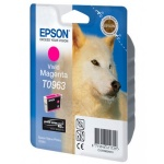 Картридж струйный Epson C13 T0963 4010, пурпурный