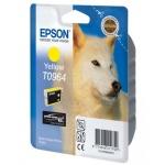 Картридж струйный Epson C13 T0964 4010, желтый