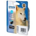 Картридж струйный Epson C13 T0965 4010, светло-голубой