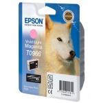 Картридж струйный Epson C13 T0966 4010, светло-пурпурный