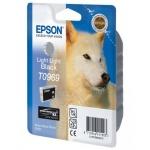 Картридж струйный Epson C13 T0969 4010, серый