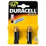 Батарейки Duracell, 1.5В, AA/ LR6, алкалиновые, 2шт./уп